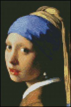 Girl with Pearl Earring 4x6 - Click Image to Close