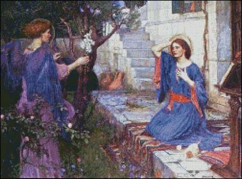 The Annunciation - Click Image to Close