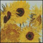 Sunflowers 4x4