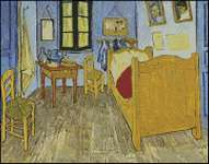 Bedroom at Arles Petite Pattern